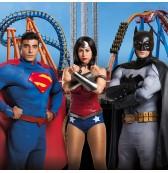 parque warner superheroes