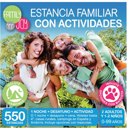 epack estancia familiar con actividades