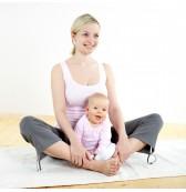 yoga para mamas y bebes