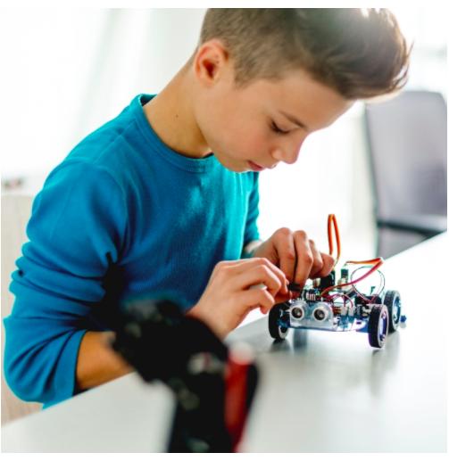 Curso de robótica con Lego...