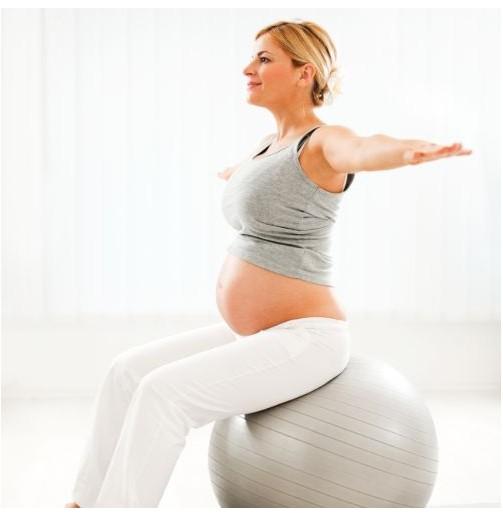 Pilates para embarazadas...