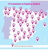 Hoteles en España y Andorra