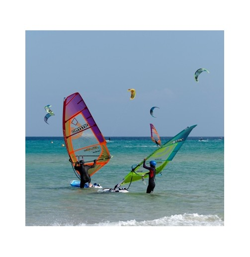 Bautizo de windsurf