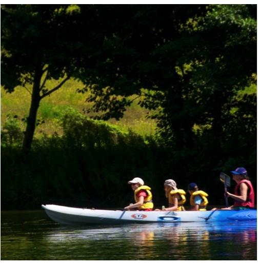 Kayak cuádruple (1h)