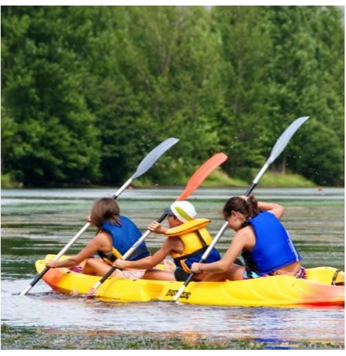 Kayak doble o triple (1h)