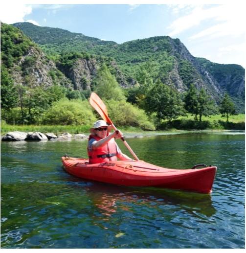 Kayak individual para 4...