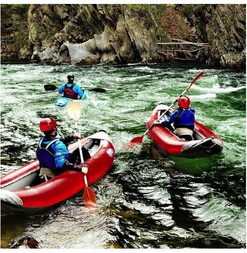 Descenso en open kayak...