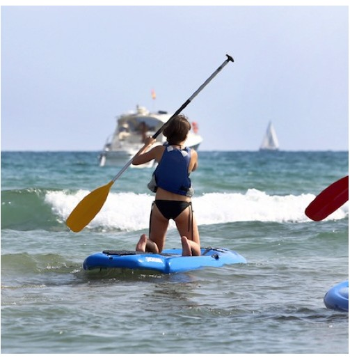 Paddle surf para 4 personas...