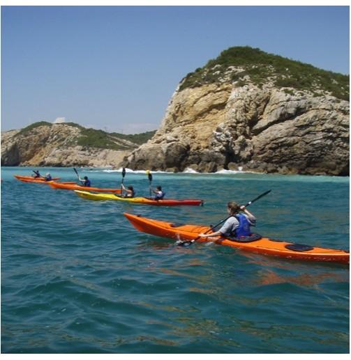 Open kayak dobles para 2...