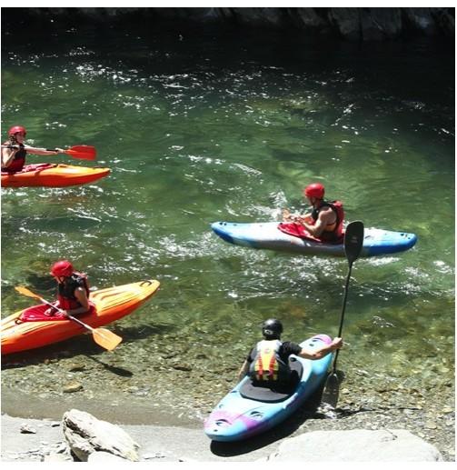 Descenso en open kayak por...